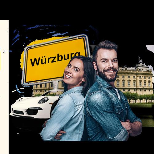 Das Autopfandleihhaus in Würzburg